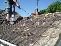Roof Cleaning and Roof Sealing image